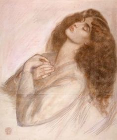 Study for Beatrice in Dante's Dream at the time of the Death of Beatrice