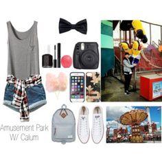 Amusement Park w/ Calum! Hope ya like it.xx