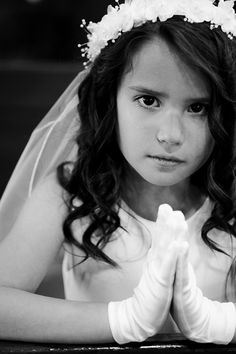First Communion photo by EclecticPhoto.com