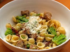 Gojee - Orecchiette with Sausage, Broccoli, and Carmelized Garlic by Serious Eats