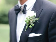 A Glossary of Tuxedo Terms and Wedding Tuxedo Styles | Photo by: Marta Locklear Photography | TheKnot.com