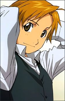 Alphonse Elric, he's so adorable...