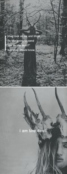 """In Finnish folklore, Ajatar (also known as Ajattara or Ajattaro) is an evil female spirit of the forest, """"the devil of the woods"""". She has many forms and depending on the description, she's said to be a witch, a ghost, a snake or a dragon. Ajatar spreads diseases and plague and anyone who looks at her becomes sick. It was believed that Ajatar was the reason why people got lost in the woods and her name is probably derived from the Finnish word ajattaa; 'to lead', 'to pursue'."""