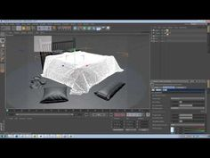 ▶ Cinema 4D tutorial: Add photoreal cloth to scenes -- Part 8 - YouTube