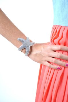 Starfish cuff.