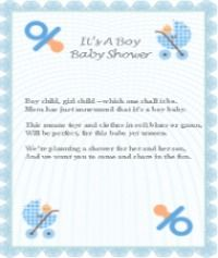 free printable baby boy baby shower poems