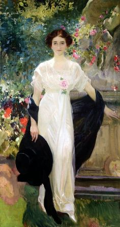 The Athenaeum - Miss Mary Lillian Duke (Mrs. Mary Duke Biddle) (Joaquin Sorolla y Bastida - ) Spanish Painters, Spanish Artists, Miss Mary, Art Graphique, Renoir, Woman Painting, Beautiful Paintings, Oeuvre D'art, Art Blog