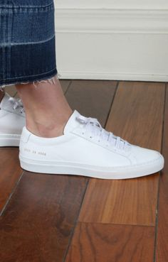 Shop Common Projects designer brand today at Epitome of Edinburgh. Browse innate style pieces rather than trend-led fashion. White Shoes, White Sneakers, Common Projects Women, Me Too Shoes, Men's Shoes, Minimalist Sneakers, Sneakers Fashion, Espadrilles, Casual Outfits