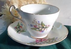VINTAGE Regency Bone China Made in England Tea by BellesTeaShop, $14.50