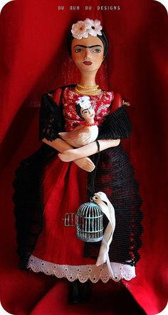 Frida doll | Flickr - Photo Sharing! christine alvarado