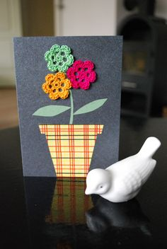 Crochet card, yep I like it