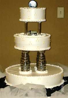 Stanley Cup Cake // photo by: Nikki Mills // Cake: Emmazing Cakes ...