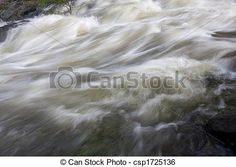 Stock Image of mountain river - whitewater background - mountain ...