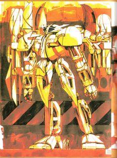 Awesome Gundam Art Created by Syd Mead - News - GeekTyrant