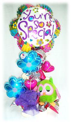 #Youre so #Special!! #Arreglo de #Globos con #Peluche!!