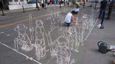 Street urban art in natures paul keirn (5)