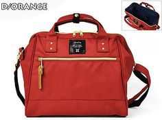 Anello Japan LARGE MINI Two Way Crossbody Top Handle Hot Selling Rucksack Canvas