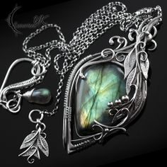 ATRDHYLL - silver and labradorite by LUNARIEEN on DeviantArt