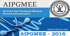 Exam Dates for AIPGMET-II 2016 released