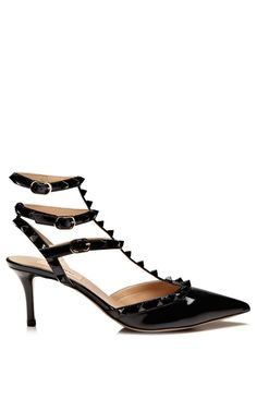 Shop Rockstud Slingback Pump by Valentino Now Available on Moda Operandi