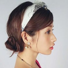 Ulzzang, Pearl Earrings, Instagram, Actresses, Womens Fashion, Pretty, Photography, Accessories, Satomi Ishihara