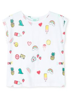 Tilii | Essentials Print Tee - Badge Yardage | Myer Online
