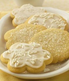 Classic Sugar Cookies (Cookie Exchange Quantity - makes 96!) #MakeMerry