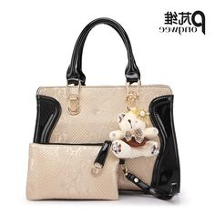 33.66$  Buy now - https://alitems.com/g/1e8d114494b01f4c715516525dc3e8/?i=5&ulp=https%3A%2F%2Fwww.aliexpress.com%2Fitem%2FPONGWEE-High-quality-PU-Bag-Ladies-Crocodile-Pattern-Women-Messenger-Bags-Women-Famous-Brand-Designer-Classic%2F32751713330.html - PONGWEE High quality PU Bag Ladies Crocodile Pattern Women Hand bag 2016 Famous Brand Designer Classic Purses and Handbag