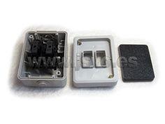 Conmutador estanco de superficie Electro dh 36.526/C en color gris (Máx.: 10AX-250Vac~) - IP54 - Dimensiones: 80x50x65mm #electricidad #electricista #bricolaje #taller #jsventaonline www.jsvo.es