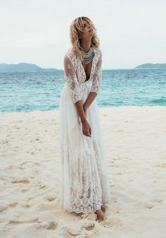 SPELL BRIDE 2015 COLLECTION // #wedding #dress #bride #lace #sleeves #beach #relaxed #bohemian #ceremony #reception #gypsy #spell #byronbay