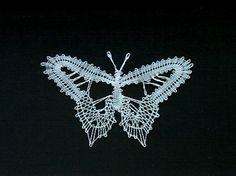 Lace Heart, Lace Jewelry, Bobbin Lace, Lace Detail, Butterfly, Knitting, Crochet, Silver, Inspiration
