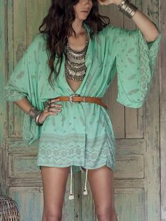 ╰☆╮Boho chic bohemian boho style hippy hippie chic bohème vibe gypsy fashion indie folk the 70s . ╰☆╮♥ Stunning and stylish outfit ideas from Zefinka.com for fashionable women.