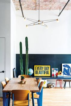 How To Squeeze a Dining Room Into a Small Space | Domino