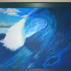 Bigger wave painting