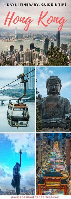 Hong Kong | Asia | Hong Kong travel guide | Hong Kong itinerary | Hong Kong 3 days | Hong Kong tips | Where to go in Hong Kong | Things to do in Hong Kong