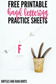 Get this set of FREE letter L hand lettering practice sheets. Click to see all 8 styles you can start lettering today. #handlettering #letteringpractice #practicesheets #calligraphy #lettering Hand Lettering For Beginners, Hand Lettering Practice, Calligraphy Practice, Brush Lettering, Modern Calligraphy Tutorial, Hand Lettering Tutorial, Easy Homemade Gifts, Business For Kids, Creative Crafts
