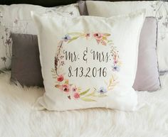 Wedding Gift Personalized Wedding Gift Mr and Mrs by 42ndStDesigns