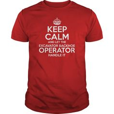 Awesome Tee For Excavator Backhoe Operator T-Shirts, Hoodies. CHECK PRICE ==► https://www.sunfrog.com/LifeStyle/Awesome-Tee-For-Excavator-Backhoe-Operator-Red-Guys.html?id=41382
