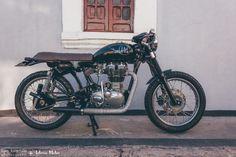 royal enfield cafe racer | Tumblr