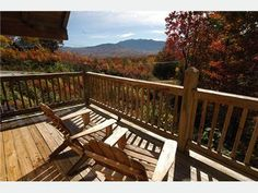 Enjoy cool mornings on this gorgeous deck!    http://www.homeaway.com/vacation-rental/p7038466h