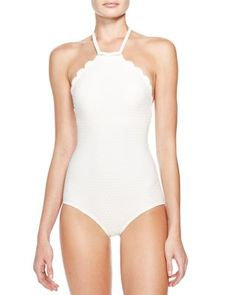 kate spade new york Marina Piccola One Piece Swimsuit | Bloomingdale's