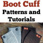 10 {cute} Boot Cuff Patterns and Tutorials