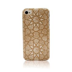 iPhone 4(S) Cover   BOHEMIAN STAR White