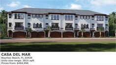 PARADISE LUXURY PROPERTIES: CASA DEL MAR IN BOYTON BEACH NEW HOMES FOR SALE New Condo, Condos For Sale, New Homes For Sale, South Florida, New Construction, Paradise, Real Estate, Mansions, Luxury
