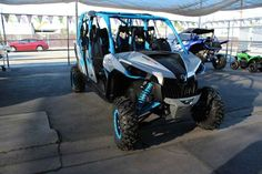 New 2017 Can-Am Maverick MAX X ds TURBO 1000R Turbo ATVs For Sale in California. 2017 Can-Am Maverick MAX X ds TURBO 1000R Turbo, 2017 Can-Am® Maverick MAX DPS 1000R COMFORTABLE STEERING AND CONFIDENT RIDE Enjoy comfortable steering with varying levels of assistance. Features may include: 101-HP ROTAX® 1000R V-TWIN ENGINE & DUAL EXHAUST ULTIMATE PERFORMANCE The 976cc, 101-hp Rotax® 1000R V-Twin engine is at the heart of the Maverick performance. This liquid-cooled, single-overhead-cam…