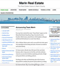Marin Real Estate - Click to visit blog:  http://1.33x.us/Hzqcuj