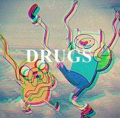 Adventure Time Finn & Jake. Drugs; Kawaii Grunge <3