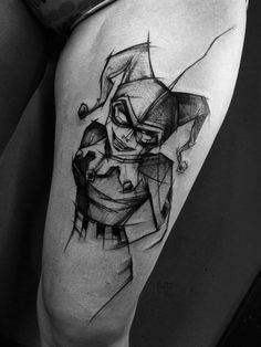 Polish Artist Shows Just How Awesome Sketch Tattoos Can Be | UltraLinx