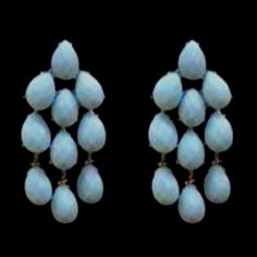 Siman Tu - Turquoise Earrings