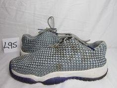 8c3ed8f93a3bd3 Nike Air Jordan Future Low GG 724814-039 Grey Reflective Mesh Kid Shoes Size  6Y  fashion  clothing  shoes  accessories  kidsclothingshoesaccs  boysshoes  ...